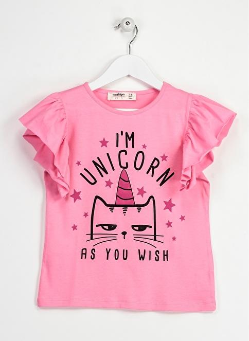 Morhipo Kids Unicorn Tişört Pembe